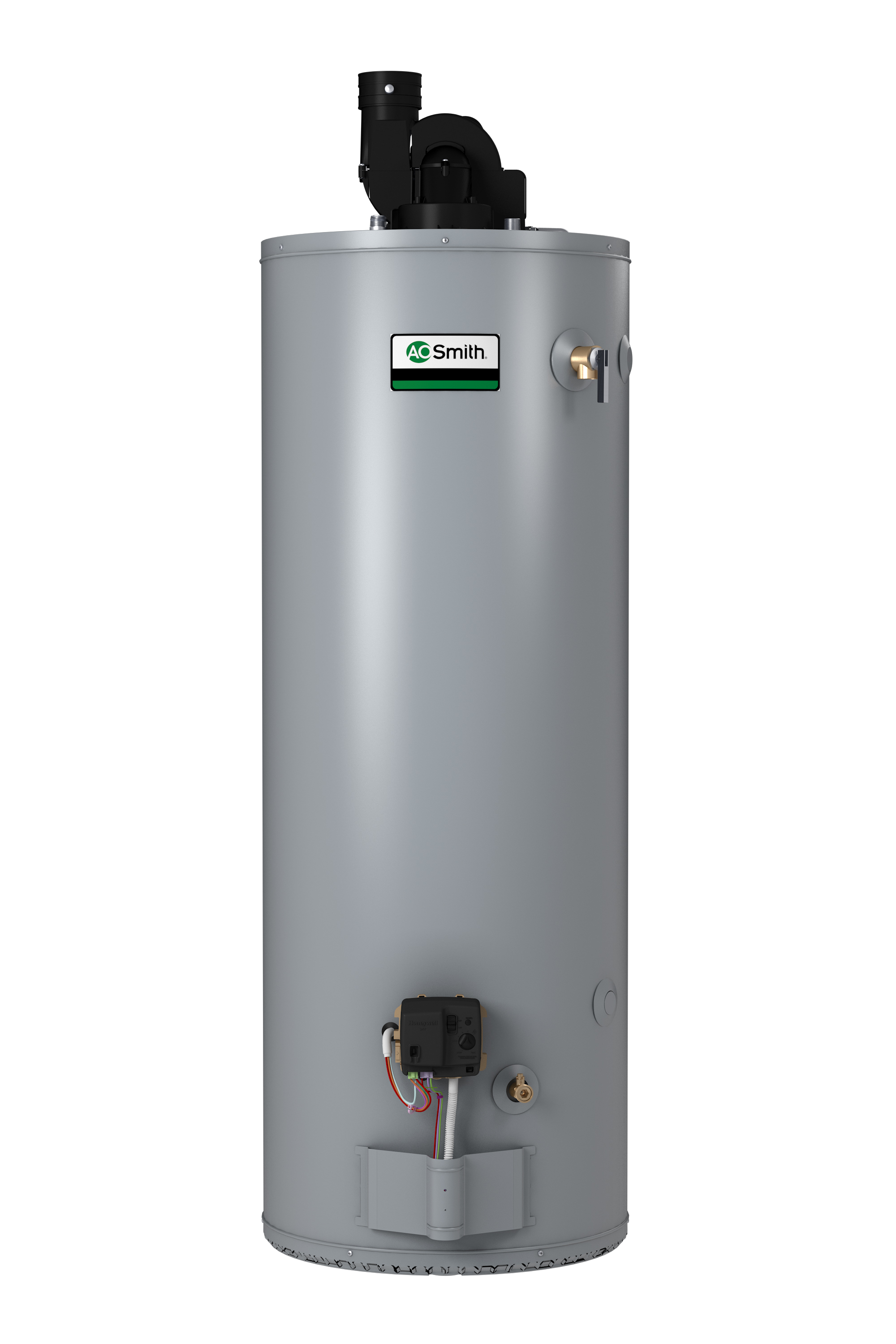 AO SMITH BPD-80: 75 GALLON, 76,000 BTU, 3inch OR 4inch VENT, CONSERVATIONIST POWER DIRECT VENT, SINGLE FLUE, NATURAL GAS COMMERICAL WATER HEATER
