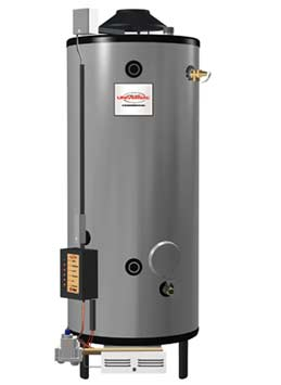 RHEEM G72-300: 72 GALLON, 300,000 BTU NATURAL GAS WATER HEATER, WITH 8inch VENT