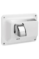SLOAN 3366040, EHD-451 WHT, OPTIMA HAND DRYER, SENSOR OPERATED, WHITE, 110/120 VOLT, RECESS MOUNT, BOTTOM VENT
